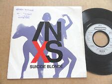 """DISQUE 45T DE INXS  """" SUICIDE BLONDE """""""