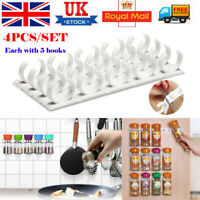 20 Clips Kitchen chip spice jar rack storage holder cupboard door cabinet wall