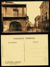 Tarjeta Postal Ciudad Real. Ayuntamiento antiguo y Mercado. Nº 12. FOTO ROISIN.