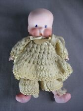 Antique SHEbee Twelvetrees As Is Parts Repair Vintage Bisque Old Character Doll