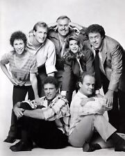 CHEERS 8x10 B&W Publicity Cast Photo TV Show Television Memorabilia Photograph
