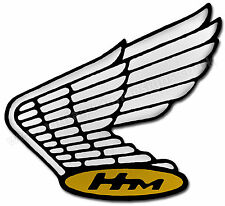"VINTAGE HONDA WING LOGO DIGITALLY CUT OUT VINYL STICKER. 4.5"" X 4"" OVERALL SIZE"