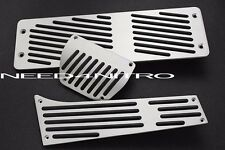 BMW AT Auto LHD Gas Brake Footrest Pedal Set E34 E36 M3 E38 E65 X3 X5 Z3 325 740