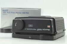 【Unused in BOX】 MAMIYA RZ67 Pro II 120 Roll Film Back Holder From JAPAN #236