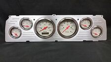 1964 1965 1966 CHEVY TRUCK 6 GAUGE DASH CLUSTER SHARK