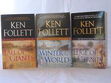 The Century Trilogy #1-3: Book Series by Ken Follett (Mass Market Paperback)