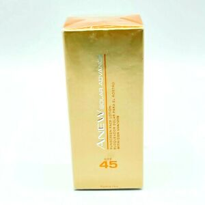 Avon Anew Solar Advance Sunscreen Face Lotion with SPF 45 Protection 2.6 Oz NEW