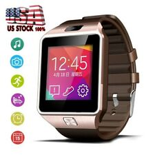 Men Touch Screen Bluetooth Smart Watch Phone Mate For Andriod Samsung Motorola