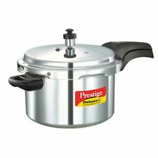 Prestige Deluxe Plus Aluminium Pressure Cooker 5 Litre INDUCTION FRIENDLY DHL