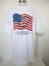 Disney Mickey Mouse Disney World American Flag T-Shirt Size XL New