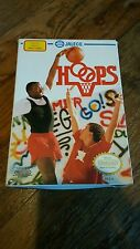 HOOPS Nintendo Game NES CIB Complete Cartridge: Cleaned/ Tested