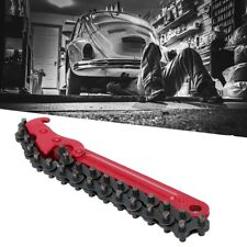Adjustable Chain Oil Filter Wrench Grip Filters Spanner  Removal Repair Tool US