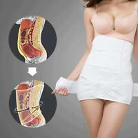 Postpartum Recovery Belly Waist Tummy Belt Shaper Slimming Body Cotton M L XXL#
