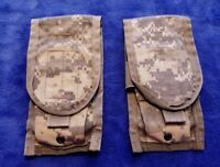 (Set-2) ACU 30rd DOUBLE MAG POUCH, MOLLE II, US MIL Surplus, EXC!!