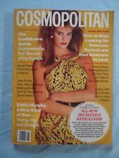 Cosmopolitan Magazine January 1985 Elle McPherson Jane Fonda Eddie Murphy Sex