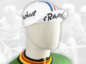 ST RAPHAEL Retro Vintage style Team Cycling Cotton Cap Eroica FREE SHIPPING