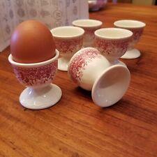 Genuine Villeroy & Boch Burgenland Egg Cups - set of 6. 1970-73! Coddler. Rare!