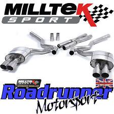 MILLTEK Mustang ssxfd159 5.0 v8 GT Sistema Di Scarico Cat Indietro Non Res QUAD TITANIO