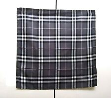 Burberry Bandana Pocket Square Mini Scarf Handkerchief Neckerchief Nova Check