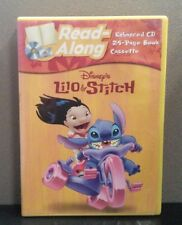 Disney: Lilo & Stitch / Read-Along CD + 24 Page Booklet + Cassette    LIKE NEW