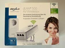 Devolo dLAN 500 AV Wireless+ Starter Kit mit 3x Ethernet RJ45, WLAN G / N