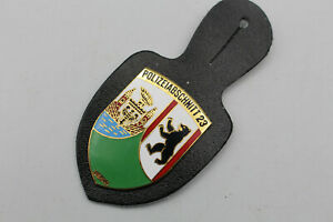 BS352: Polizei Polizeiabschnitt 23 Berlind Brustanhänger Marke