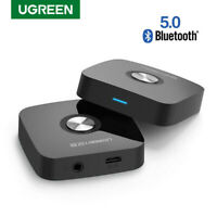 UGREEN Bluetooth Receptor 3.5mm Audio Adaptador con EDR para Car Audio Estéreo