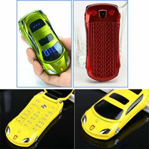 2 SIM Camera Sport LED Light Unlocked Smallest Flip Mini Car Mobile Phone Backup