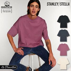 Unisex Organic Cotton T-Shirt Stanley Stella Dropped Shoulder Short Sleeve Top