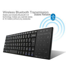 Wireless Bluetooth 3.0 Keyboard with Mouse Touchpad for Windows IOS Android PC
