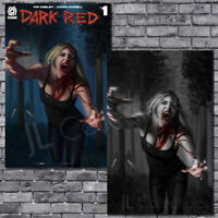 🔥 Dark Red #1 Special Edition Aaron Bartling Trade Color Splash Virgin Maer NM!