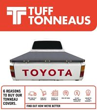 Toyota Hilux J Deck Dual Cab 1998 to March 2005 Rope Ute Tonneau Cover