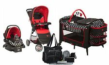 Disney Baby Stroller Car Seat Travel System Newborn Playard Mini Nursery Mickey