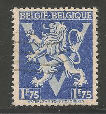 Belgium #347 (A90) VF USED - 1944 1.75fr Lion Rampant