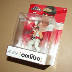 Nintendo Amiibo Ryu Super Smash Bros. Brand New / Fast Shipping USA Version