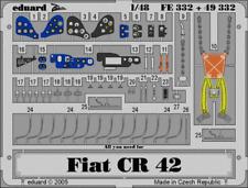 Eduard 1:48 CR-42 Falco Color PE Detail Set for Italeri Kit #49332