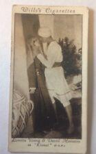 Loretta Young + David Manners 'Kismet' Card, Wills' 21/50