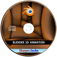 Neu & Schneller Versand! Blender 3D Modeling & Animation Studio Software - Mac