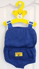 BUILD A BEAR 💙 Boys Blue Baby Carrier Sling Bag Adj Strap Backpack Gift Present