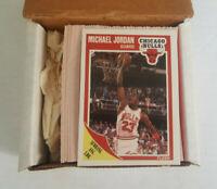 1989-90 Fleer Basketball Complete Set w/Stickers Michael Jordan
