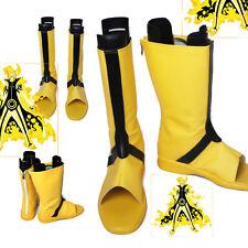 Original Naruto Uzumaki Naruto Cosplay Shoes Yellow Boots Halloween accessories
