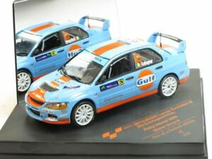 1/43 Scale model Mitsubishi Lancer Evo IX, No.63, Gulf, Winner Rally Irland