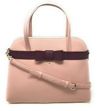 Kate Spade Kirk Park Julita Saffiano Leather Bag Satchel Bow Handbag WKRU4168