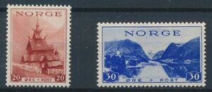[34137] Norway 1938/39 Two good stamps Very Fine MNH