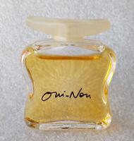Mini Eau Toilette ✿ OUI - NON by KOOKAY ✿ Miniature Perfume Parfum (5ml) NEW