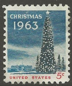 U.S. #1240 5¢ National Christmas Tree MINT-LH VF