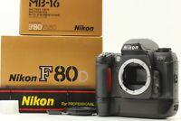 [MINT in Box] Nikon F80 35mm SLR Film Camera Body w/MB-16 w/Strap  from Japan