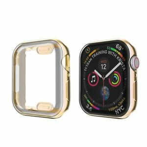 For Apple Watch Series SE 6 5 4 38 40 42 44mm iWatch Screen Protector Case Cover