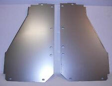 1955 - 1956 Chevy core support panels, steel, new, one pair, R & L