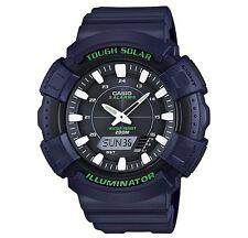 Casio Classic Watch * ADS800WH-2A Tough Solar Anadigi XL Blue Resin COD PayPal